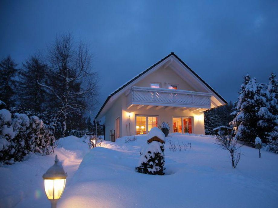Das Vogtlandhaus - Idylle im Winter