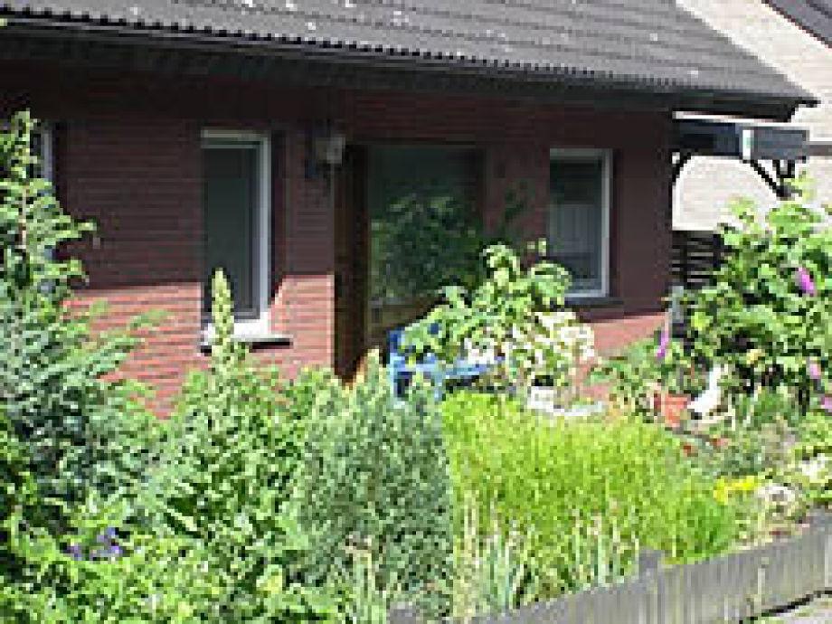 Eingang der Ferienwohnung in Altenbeken-Schwaney