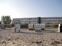Holiday apartment Beachhotel 213 - Heiligenhafen, directly at the beach