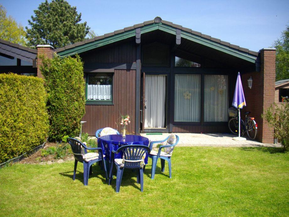 Der Studiobungalow mit Terrasse