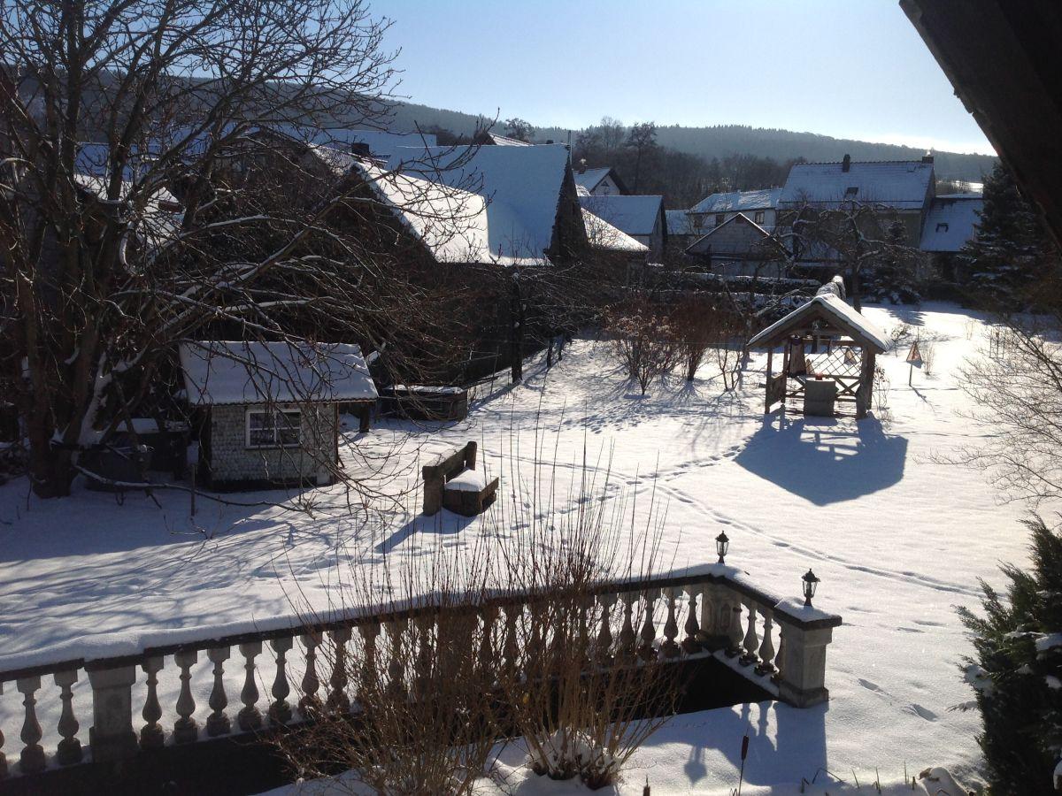 Ferienhaus morzeck hessische th ringische bayrische rh n frau siegrid morzeck - Garten im winter ...