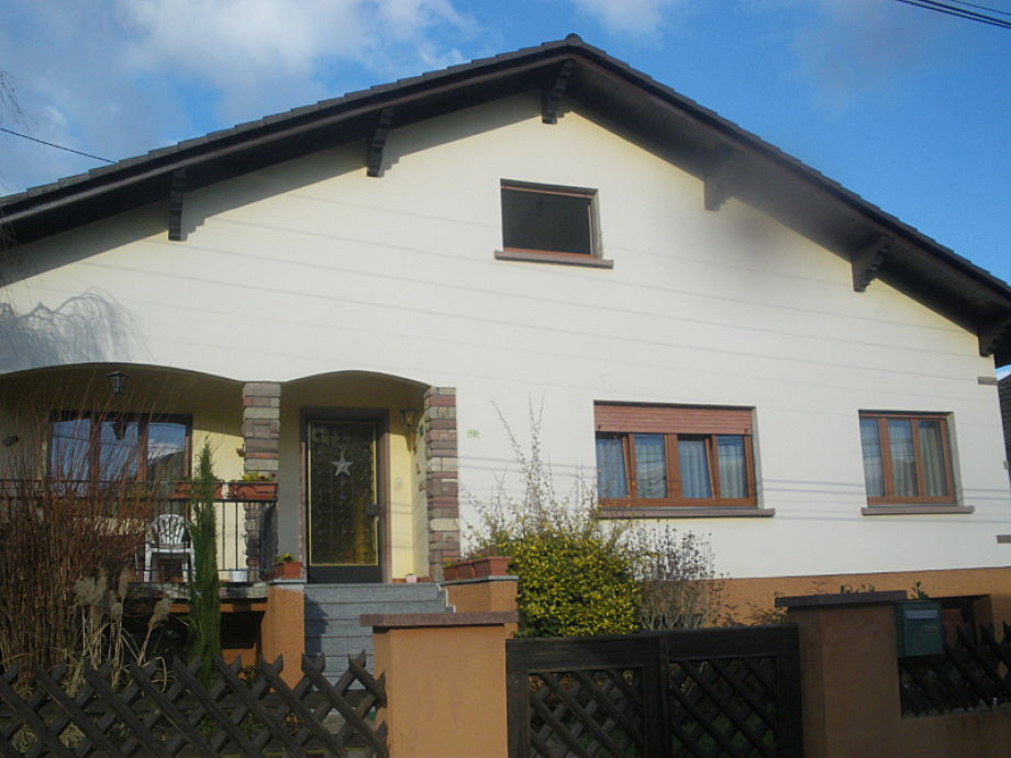 Südfassade Haus