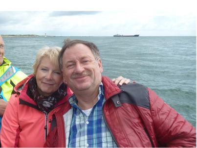 Ihr Gastgeber Karin und Volker Wiesner