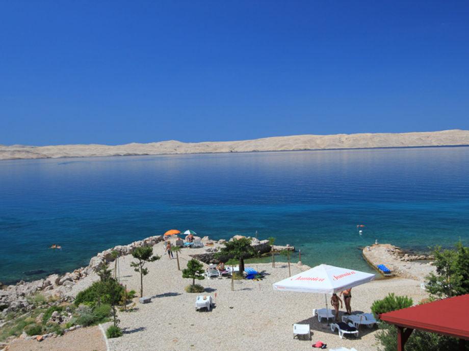 Private beach Holiday House Dario