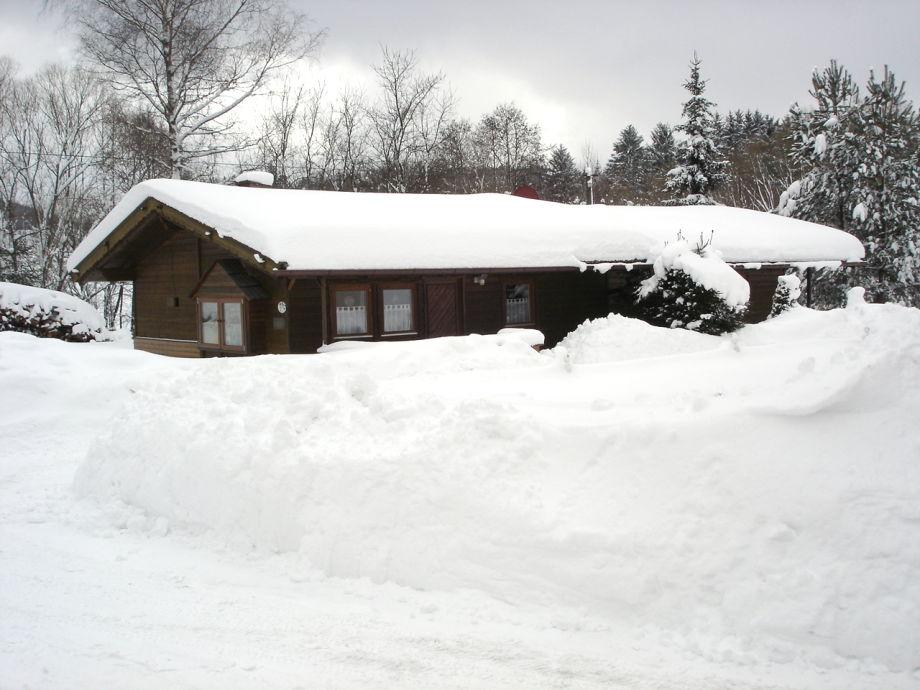 Winterlandschaft Haus Tamara