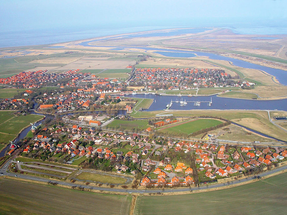 Ferienwohnung Sielblick im Ankerhaus am Siel, Nordsee, Ostfriesland ...