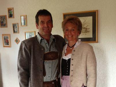 Ihr Gastgeber Klaus &Petra Hermann