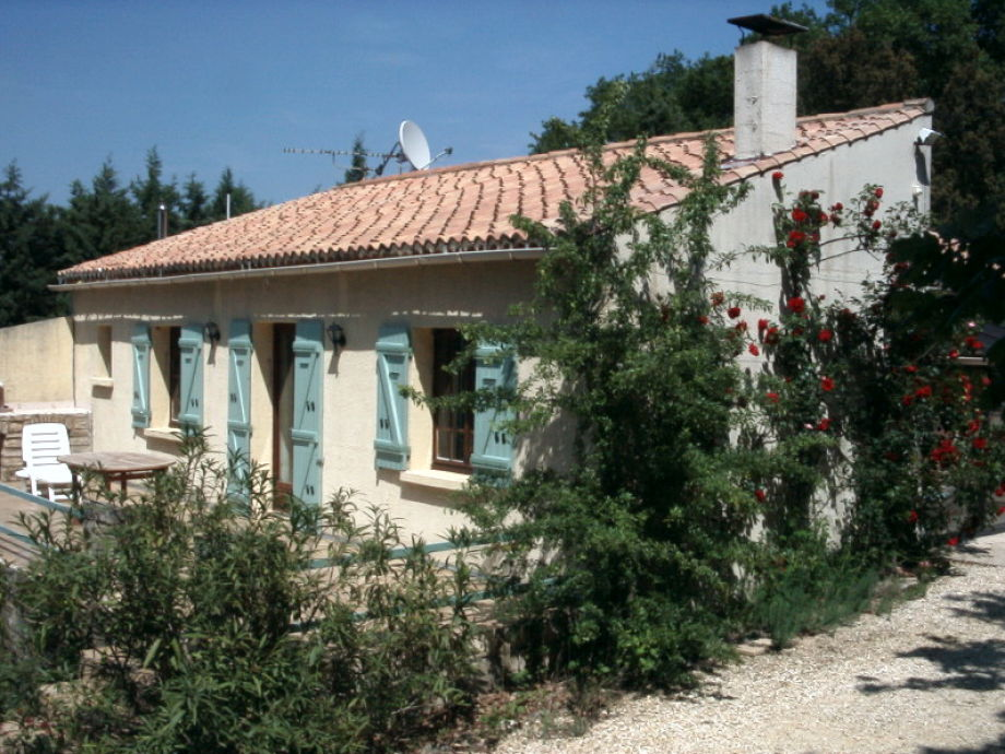 Hinterseite der Villa