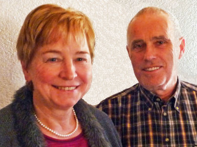 Ihr Gastgeber Brigitte und Herbert Fessler