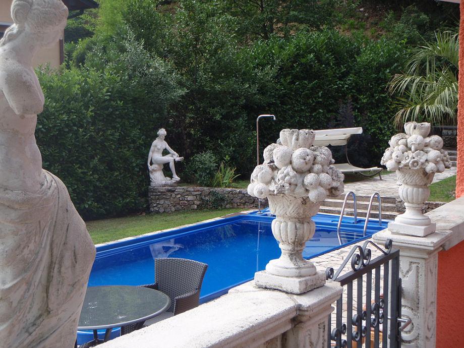 Ferienwohnung 1 in exklusiver traum villa gardasee for Angelegter garten