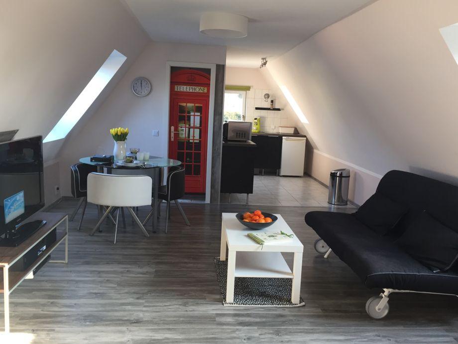 Blick in das Appartement