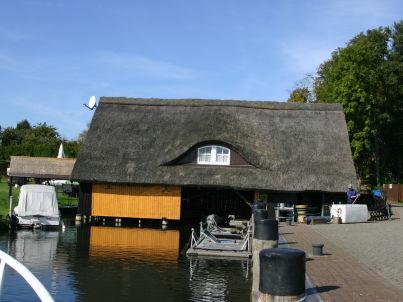 """Bootshaus"""" Zum Hecht"""""""
