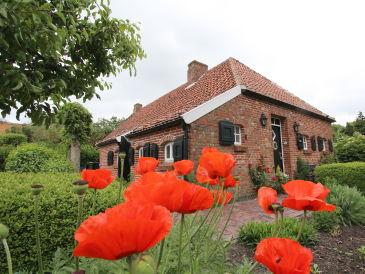 """Ferienhaus an der Nordsee: """"Huus Campen"""" - Vorderhuus"""