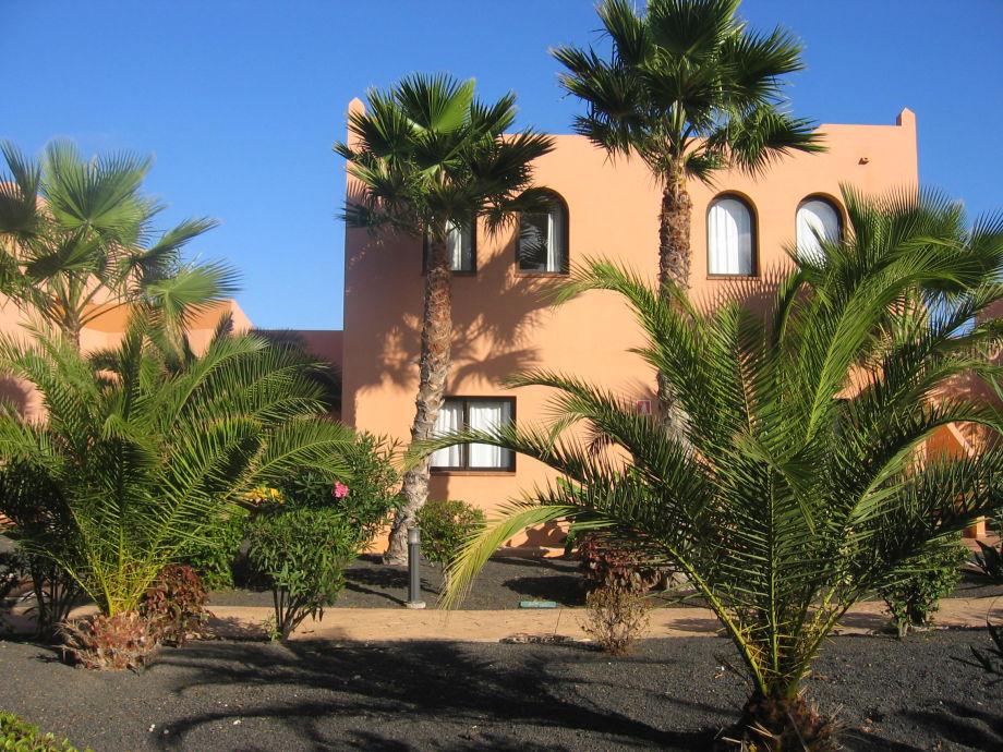 Ferienvilla im Palmengarten