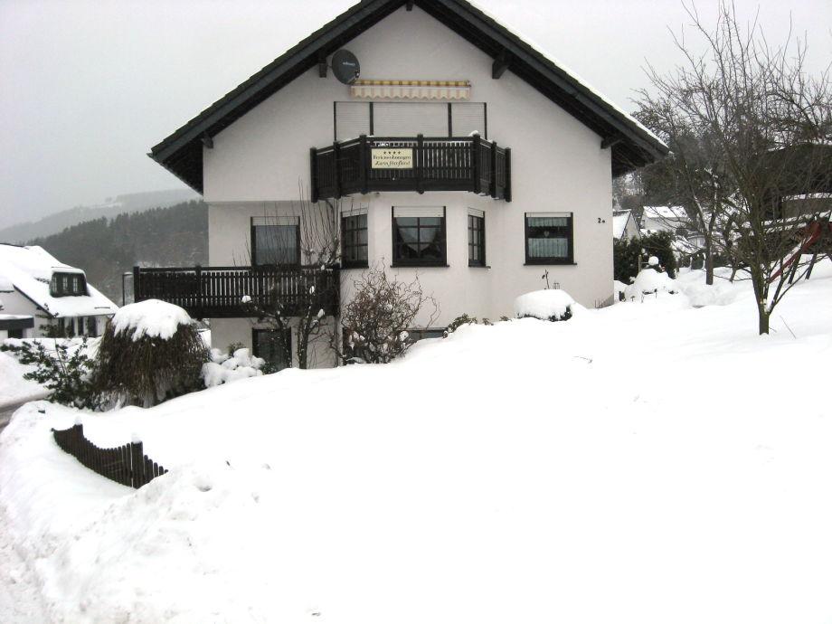 Wohnung Streichen Im Winter : Bei Winterberg Aussicht Wohnung 2 Im Winter