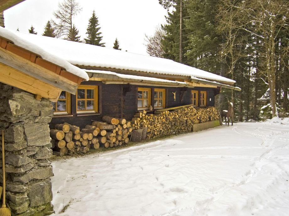 Winterstimmung Dürrwieser Jagdhaus