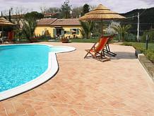 Ferienwohnung in Villa Toscana mit privatem Pool