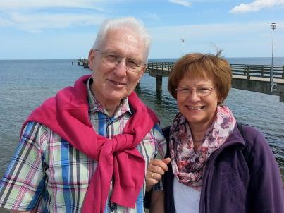 Ihr Gastgeber Klaus-Peter und Hannelore Steiner