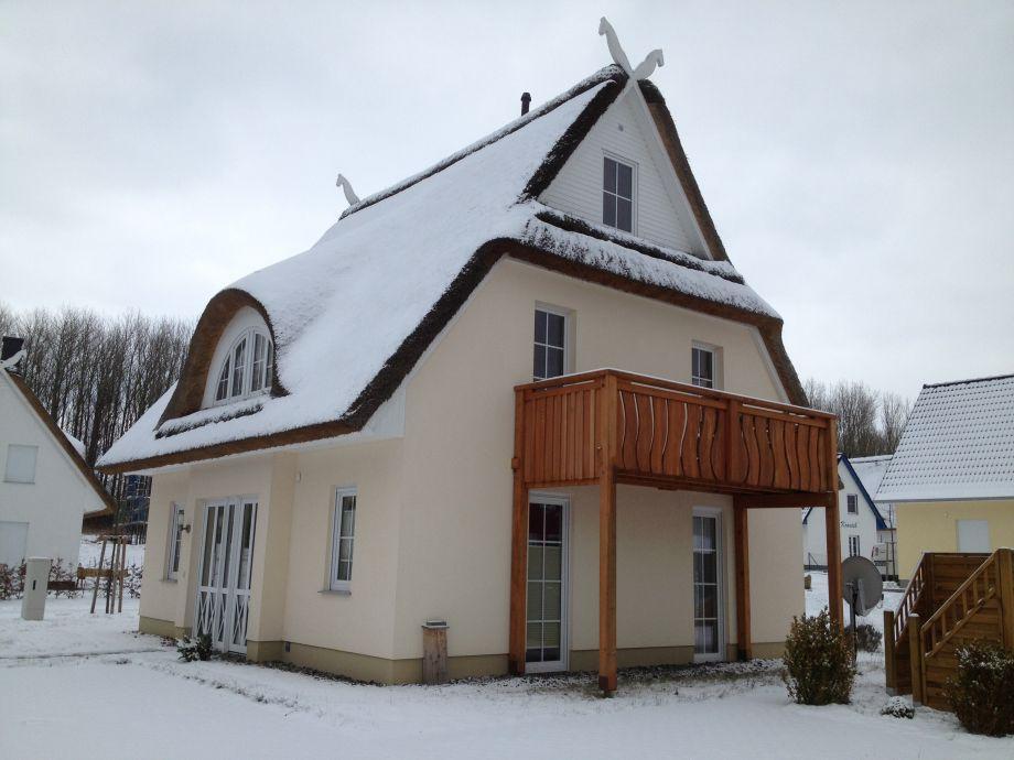 Winter am Haus