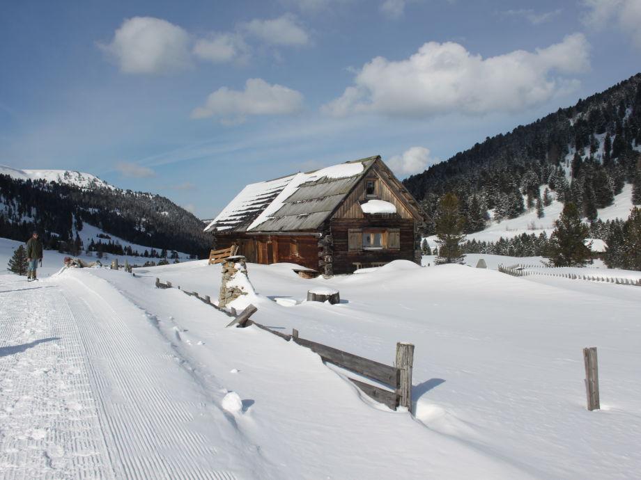 """""""Davidhütte"""" im Winterkleid"""