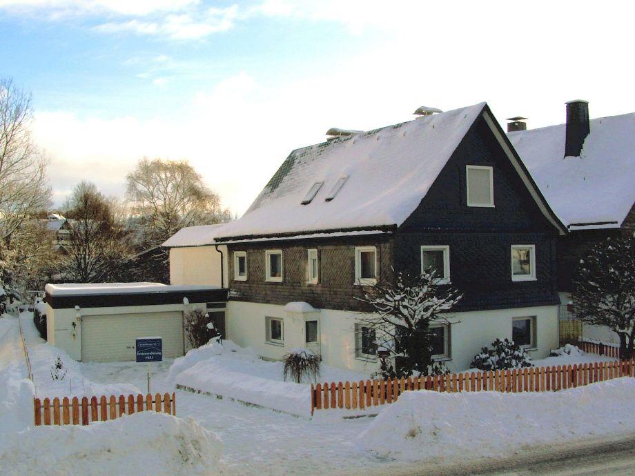 Haus Padberg im Winter