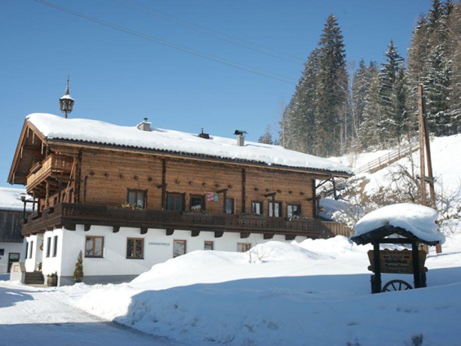 Winter am Oberkrenmooshof