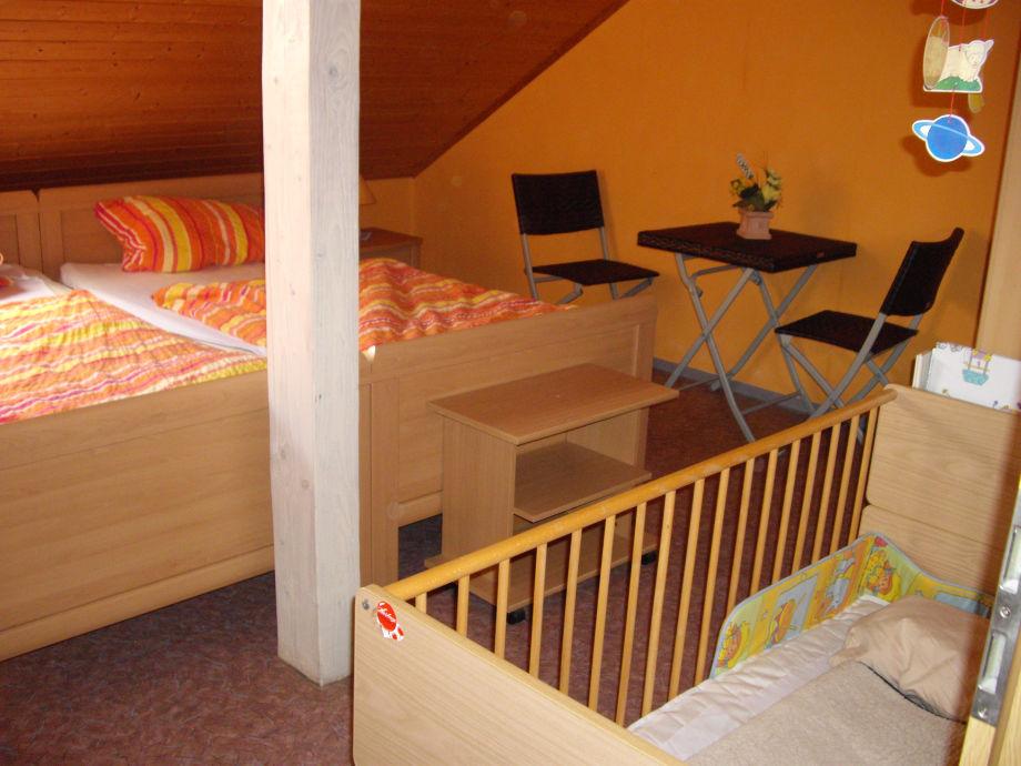 Ferienwohnung rosi liebliches taubertal badisches - Kinderbett doppel ...