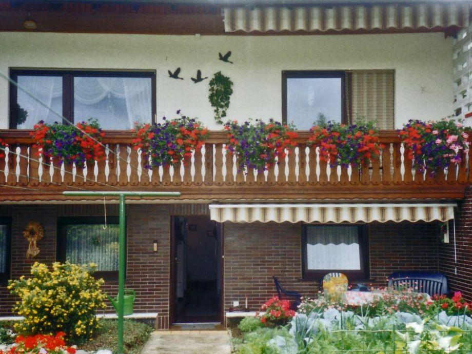 Ferienwohnug Eingang m.Terrasse