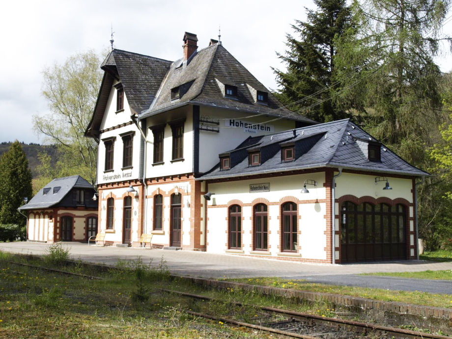 Bahnhof Hohenstein.