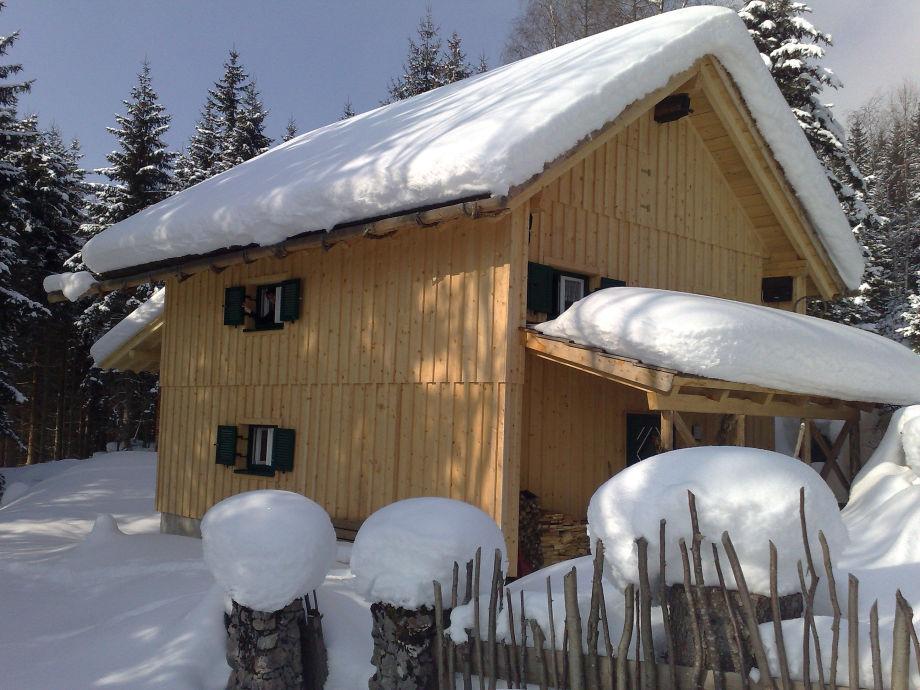Außenaufnahme Knödl-Alm Alpine Chalet