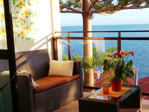 Ferienwohnung Sunrise - Wohlfühlen am Meer mit Traumblick