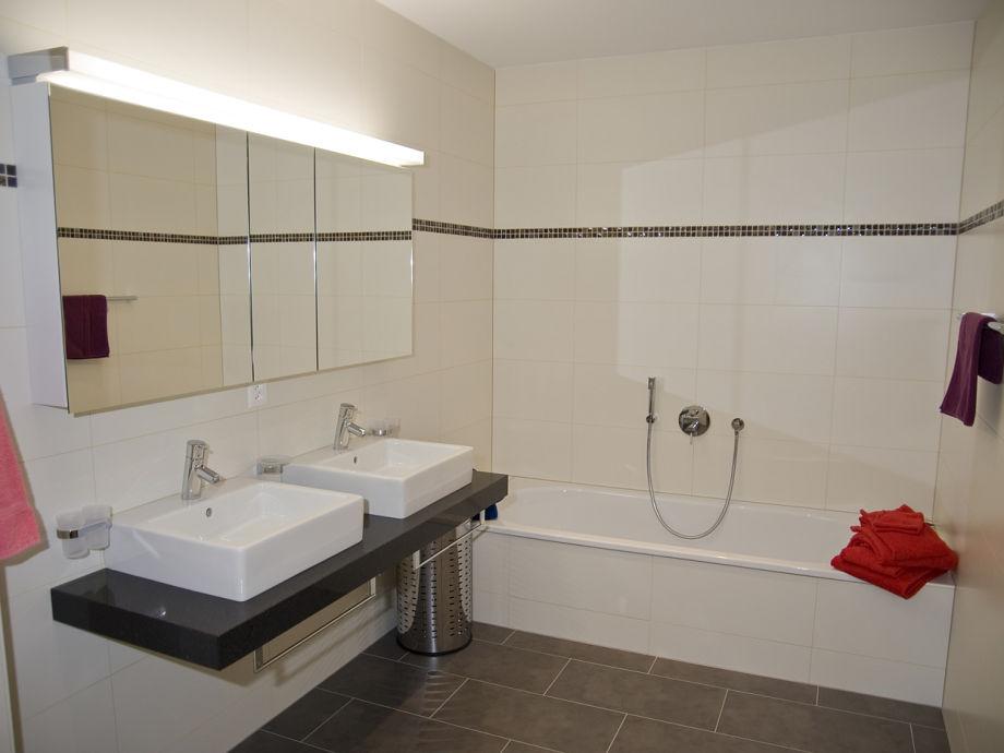 Badezimmer Separate Dusche Grundriss der Ferienwohnung