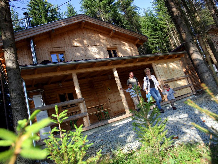 Außenaufnahme Cottage Holidays Hirschalmdorf
