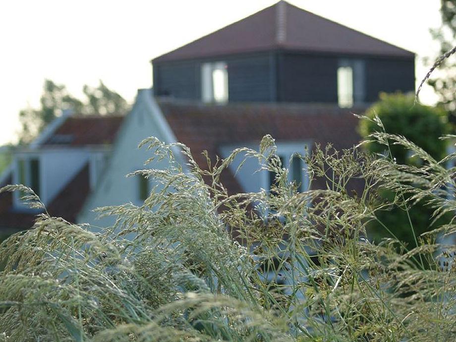 Unseres Haus, das schwarze Gebaüde ist der Kaakberg
