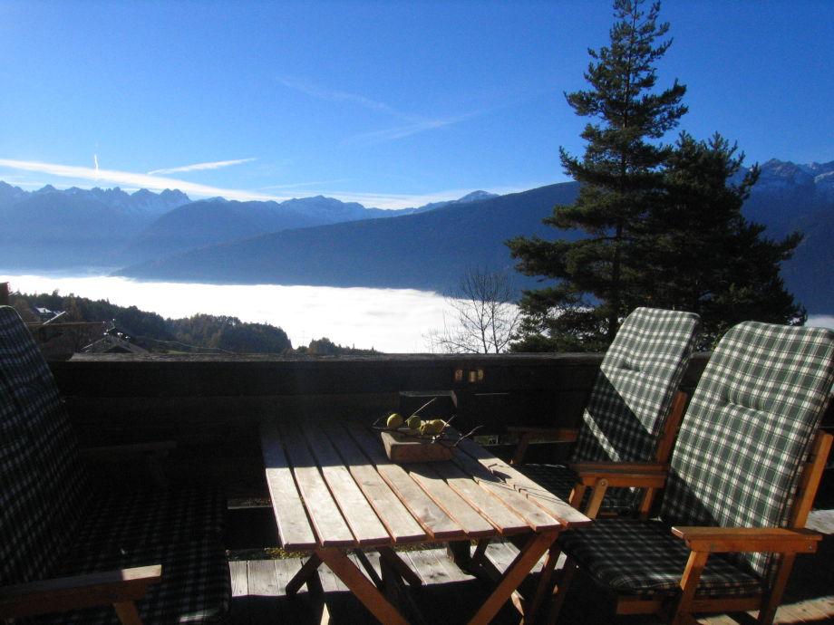 Nebel über dem Inntal