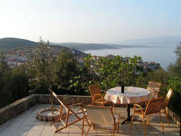 Ferienwohnung Braut mit Panorama-Meerblick
