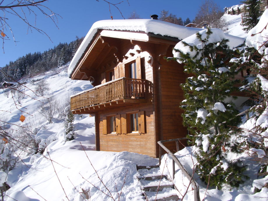 Chalet Salomon im Winter