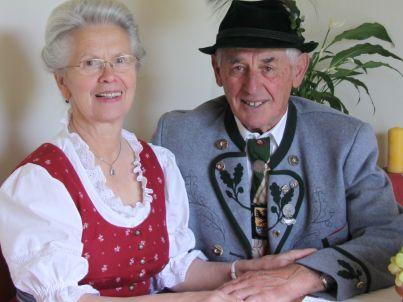 Ihr Gastgeber Franziska und Rudolf Strauß
