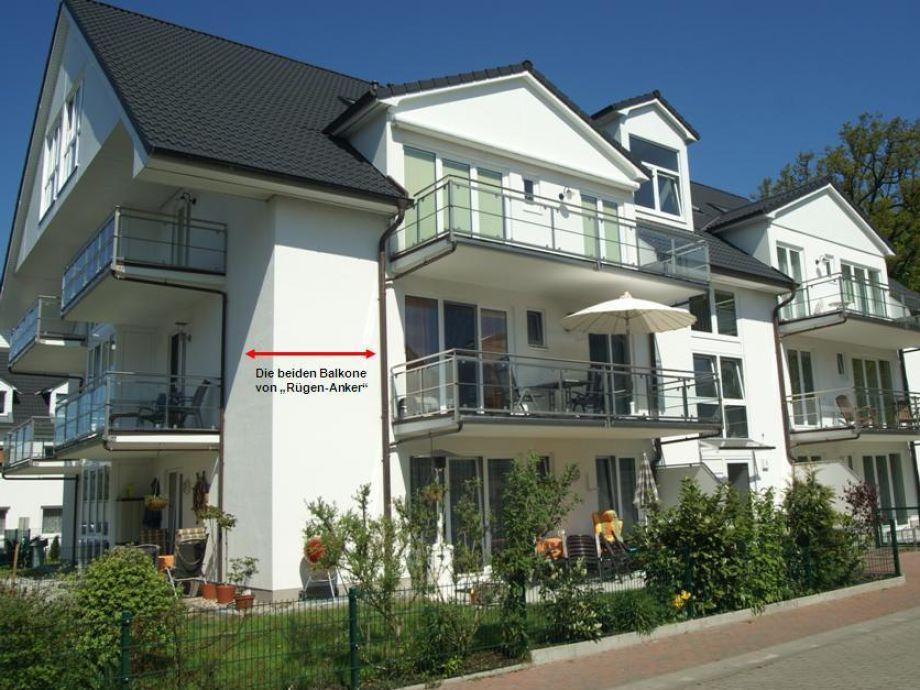 """""""Rügen-Anker"""" mit 2 Balkonen"""