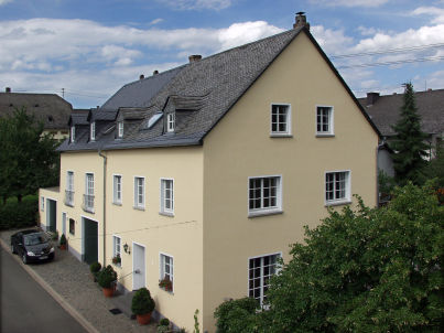 auf dem Winzerhof Faber