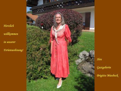 Ihr Gastgeber Brigitte Miesbeck