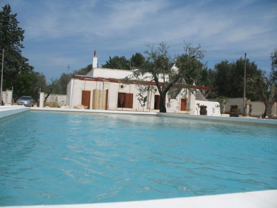 Ferienhaus mit Pool in Apulien - Villa Spadalunga