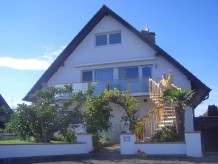 Ferienwohnung Haus Hoog mit Balkon