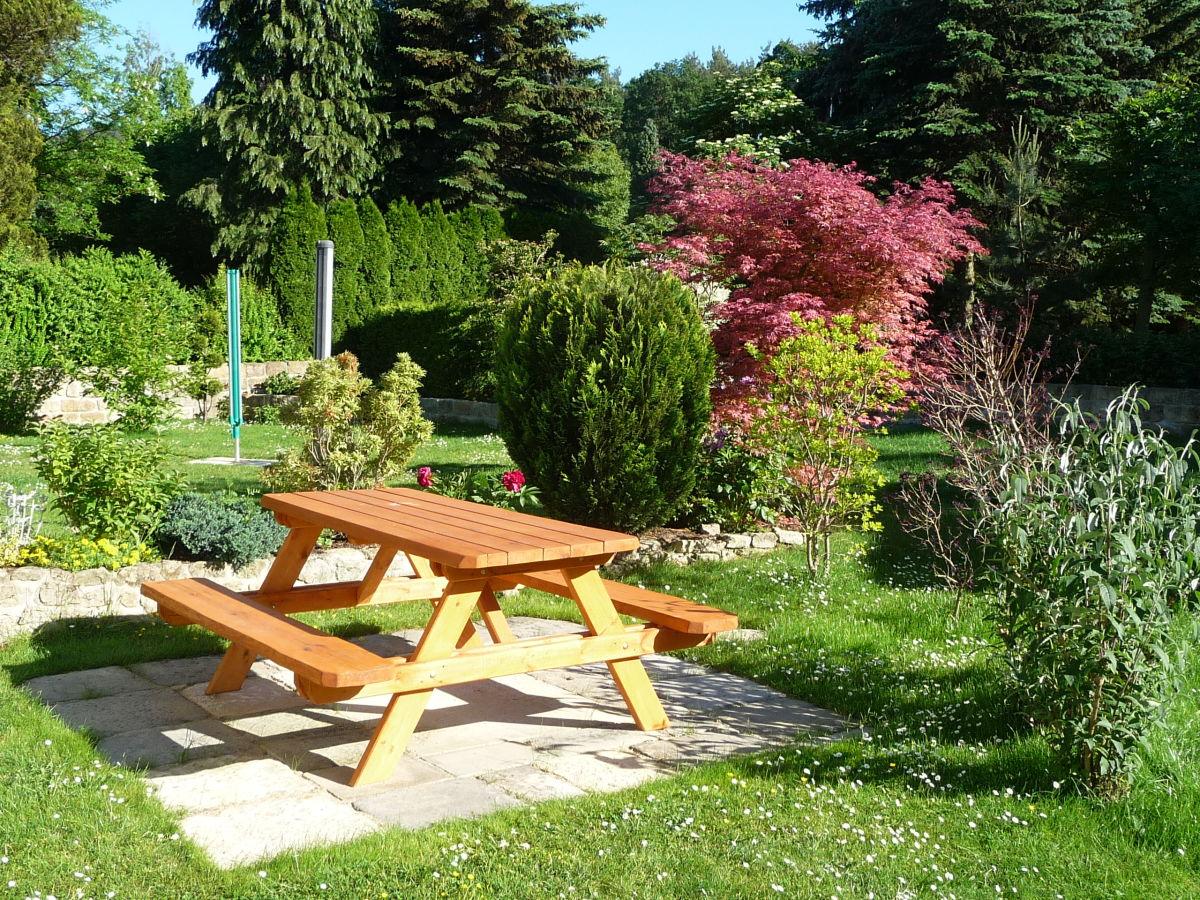 Ferienwohnung in der villa maria s chsische schweiz - Garten sitzecke ...