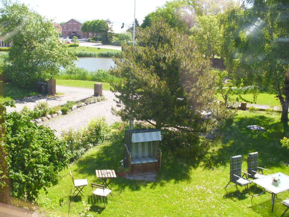 Blick aus dem fenster land  Ferienwohnung 1 Rehder in Kopendorf auf Fehmarn, Insel Fehmarn ...