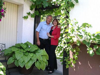 Ihr Gastgeber Ursula und Paul Gnacke