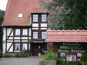 Ferienwohnung in Siecks Scheune direkt an der Weser