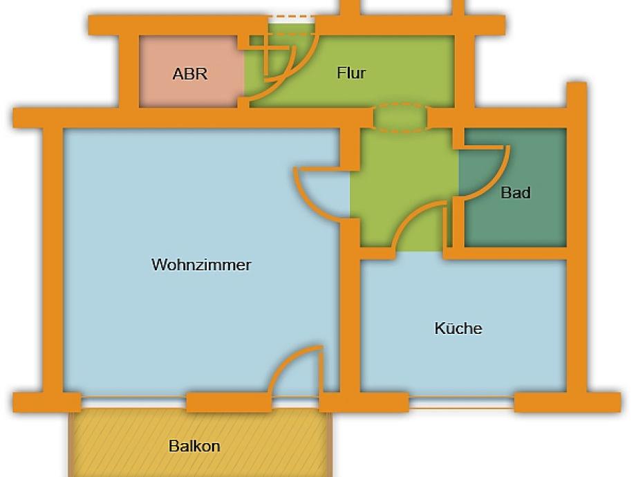 Apartment 4, Dresden- old town - Company City Apart Dresden Simone ...