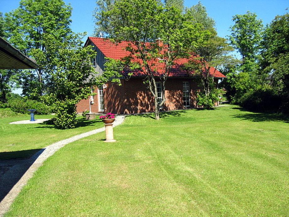 Haus und Gartenbereich