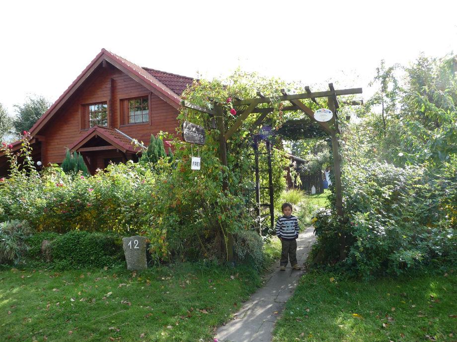Ferienwohnung im Holzhaus mit Charme.